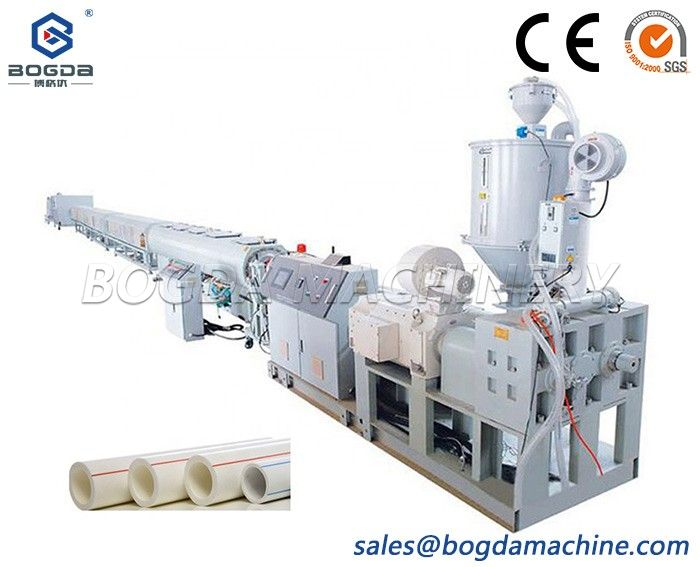 One Cavity HDPE PP PPR Pipe Pipe Extrusion Production Machine Making Machinery Manufacturer