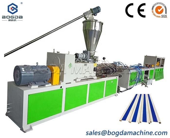 Hospital PVC Corridor Handrail Profiles Extrusion Machine Line Manufacturer