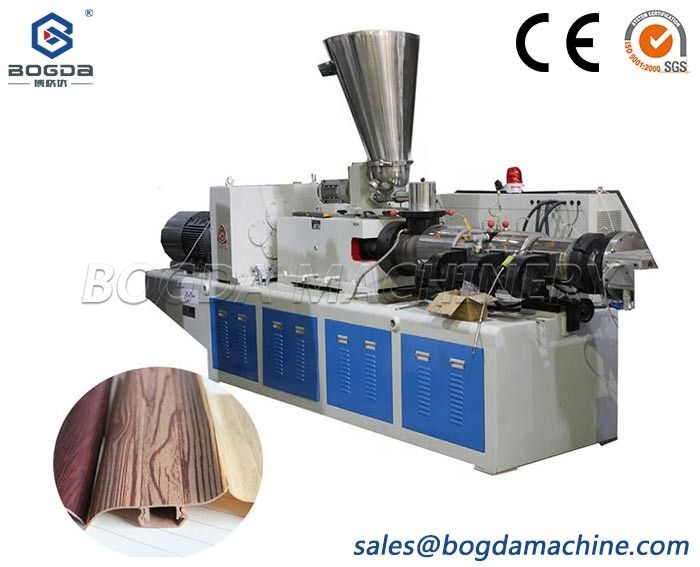 Plastic PVC Floor Baseboard Skirting Board Plinth Extrusion Production Line Making Machine