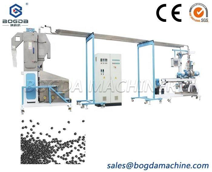 Plastic PVC TPU Underwater Pelletizing Granulation Production Line Machine