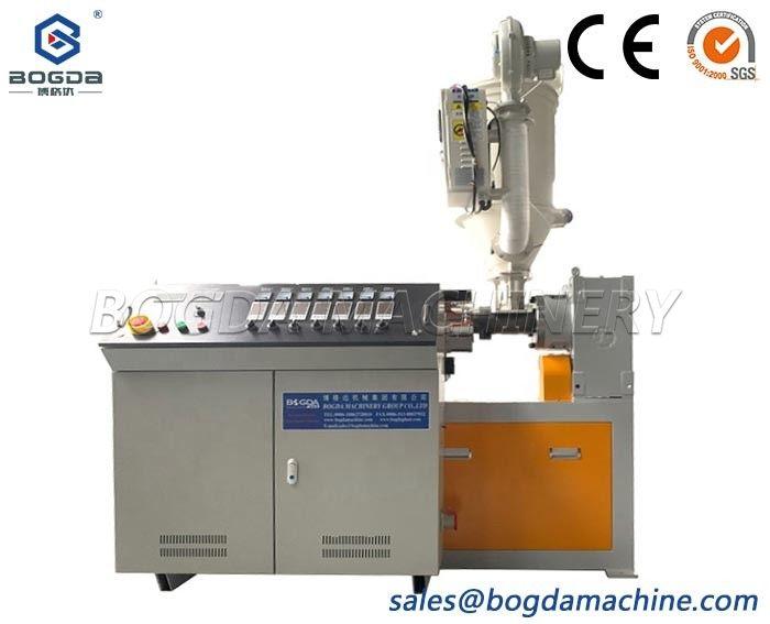 BOGDA Manufacturing PE Pipes Small Model 45 Single Screw PP Profiles Plastic Extruder