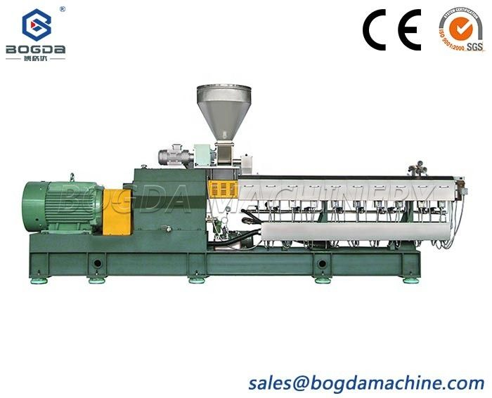 Co-rotating Parallel Twin-screw Extruder PP PE TPU TPE TPO POE EVA PET Plastic Recycling Pelletizing Extrusion Machine