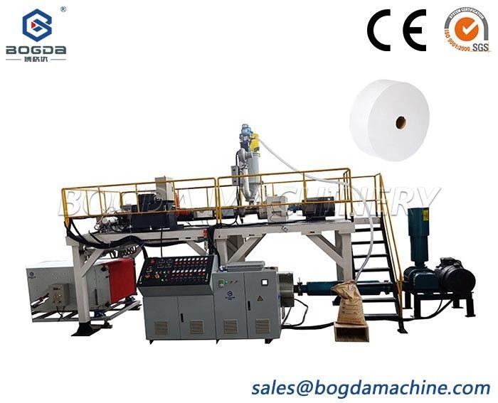 BOGDA PP Meltblown Extruder Single Screw Plastic Extrusion Machine