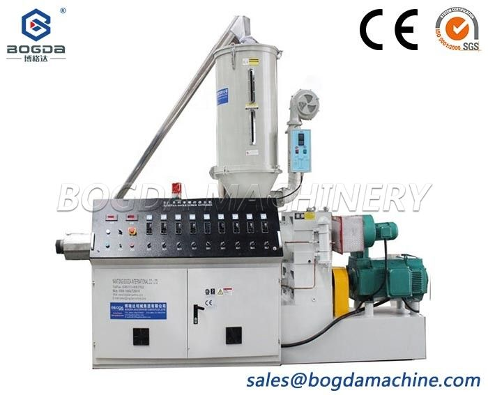 Soft PVC Corrugated Pipe Extruder For PVC Pipe Making Machine