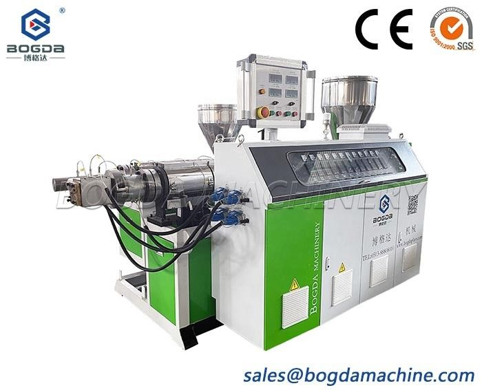 high quality PP PE PS Plastic extrusion machine SJ75 single extruder with 35 co-extruder for photo frame and skirting