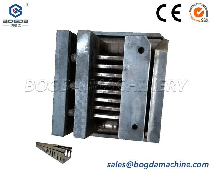 BOGDA Design PVC Trunking Profiles Punching Mold