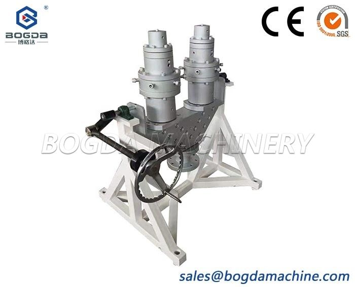 Two Cavities Plastic HDPE PE PPR Pipe Extrusion Die Mould Design