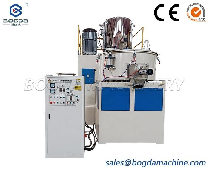 China Manufacturers High Speed PVC Plastic Powder Mixer Unit With Hot And Cold Mixing Machine