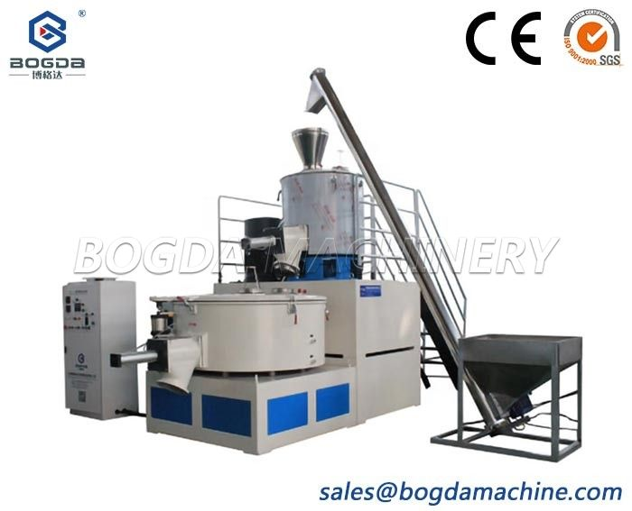 Fully Automatic Plastic Heating Cooling Mixer SRL-Z300/600 High Speed PVC Raw Materials Hot Cold Mixing Machine Units