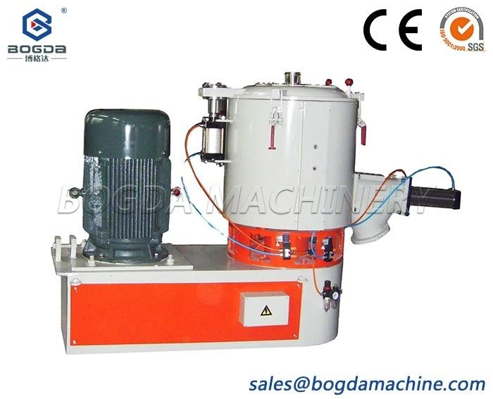 bogda 300L high speed mixer machine for plastic material mixing