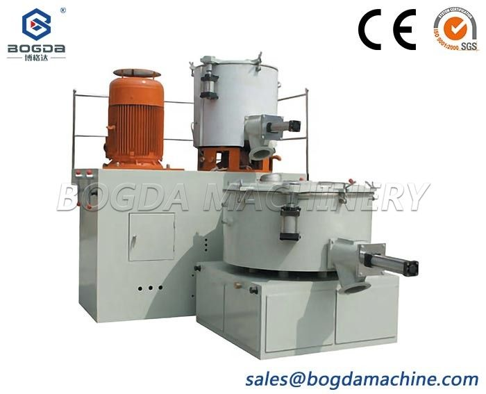high speed Vertical Type Hot & Cold Mixing System with feeder China manufacture
