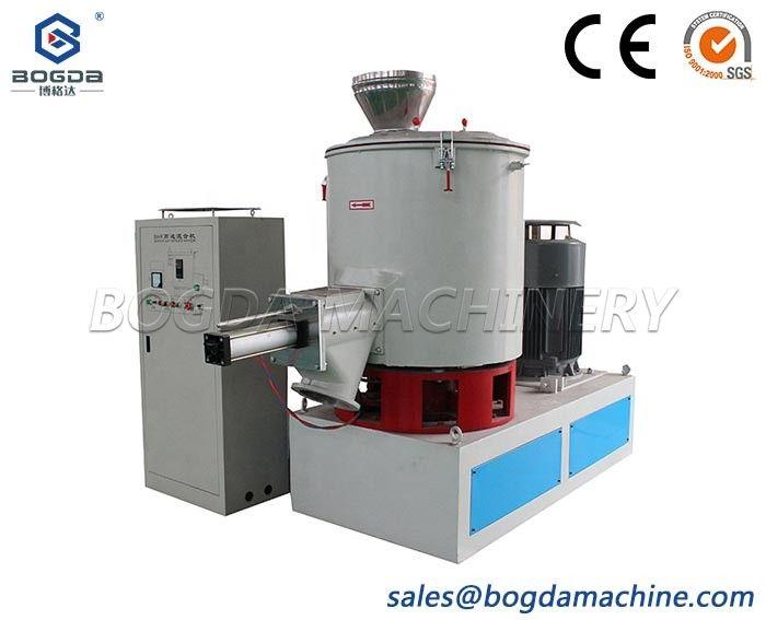 Vertical High Speed Plastic Blender Electric Pneumatic PVC Mixing Machine