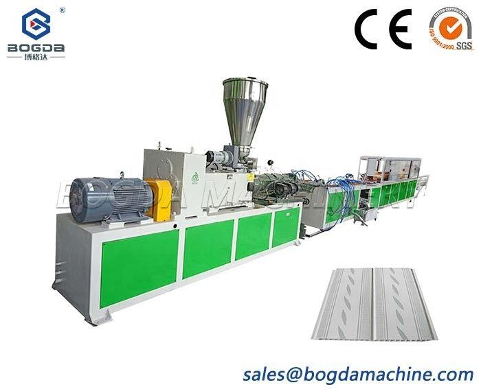 Hollow PVC Interior Decorative Wall Panel Extrusion Production Line Machine