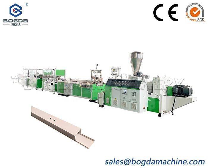 BOGDA PVC Cable Trunking Machine Production