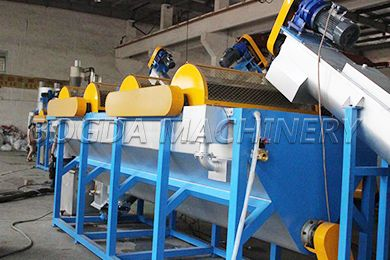 PP PE Film Washing Recycling Line, The System Are Capable Of Processing a Wide Ranges Of Plastic Materials