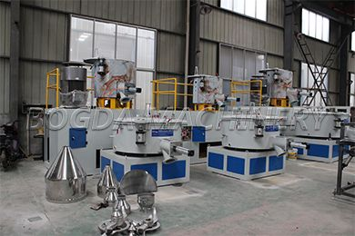 Plastic Mixing Machine. Application For Plastic Powder Mixing, Inclde Nondust