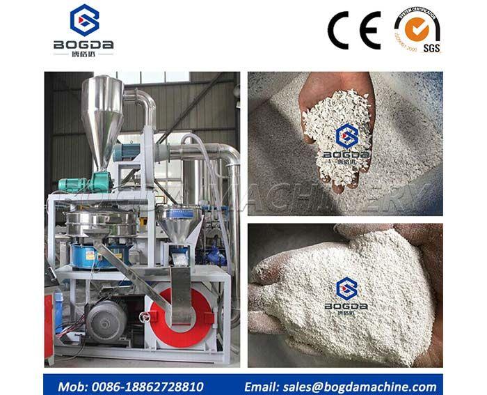 Plastic Powder Grinding Pulverizer Machine Price For PVC/PP/ABS/TPU/EVA