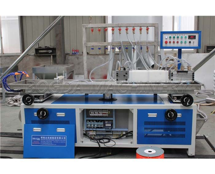 PVC Cable Trunking Extrusion Line / PVC Wire Duct Making Machine