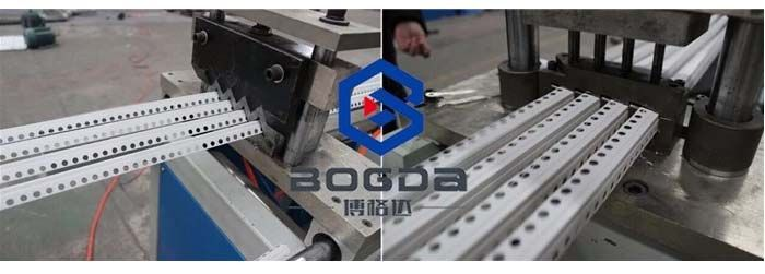 PVC Plastic Protection Corner Bead Production Line For Drywall
