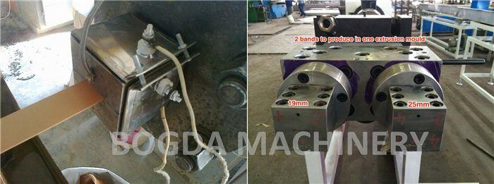 Plastic Wood Edge Band Machine, PVC Edge Banding Extrusion Machine