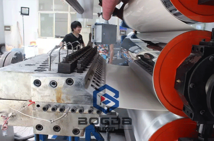 PVC Plastic Artificial Marble Sheet Production Line