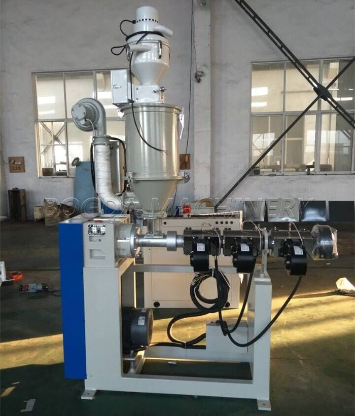 SJ25 Single Screw Small Plastic Co-extruder Lab Small Test Extruder