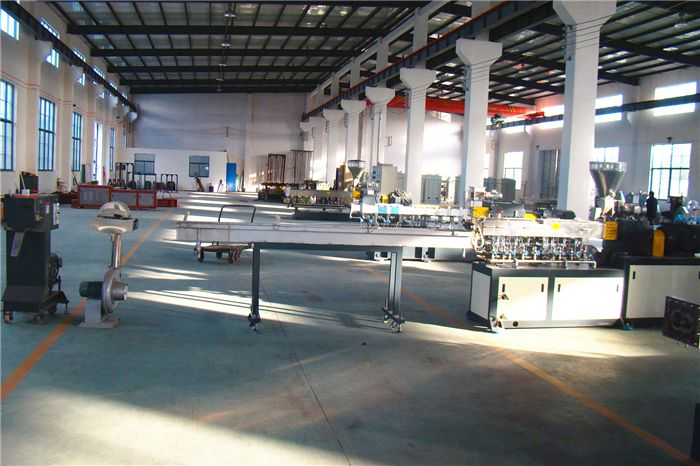 Plastic Small Parallel Co-rotating Powder Coating Lab SHJ Series Counter Rotating Twin-screw Extruder