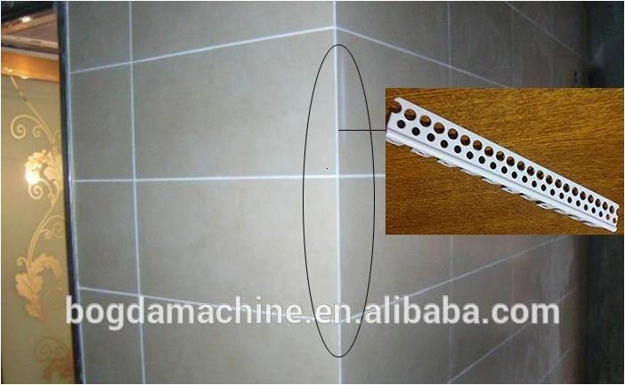 PVC H Joint Corner /F Edge corner /U Edge Trim Ceiling Corner Line Profile Extrusion Line