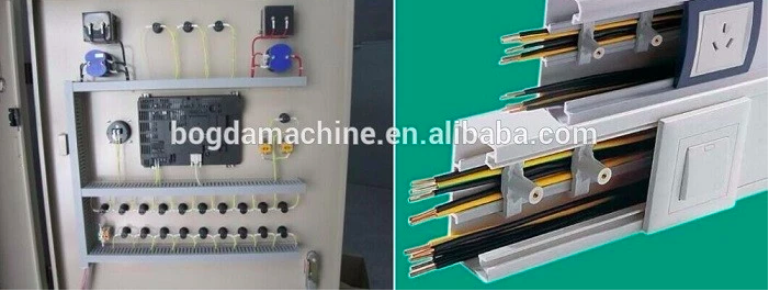 PVC Trunking Cable Trunking Machine