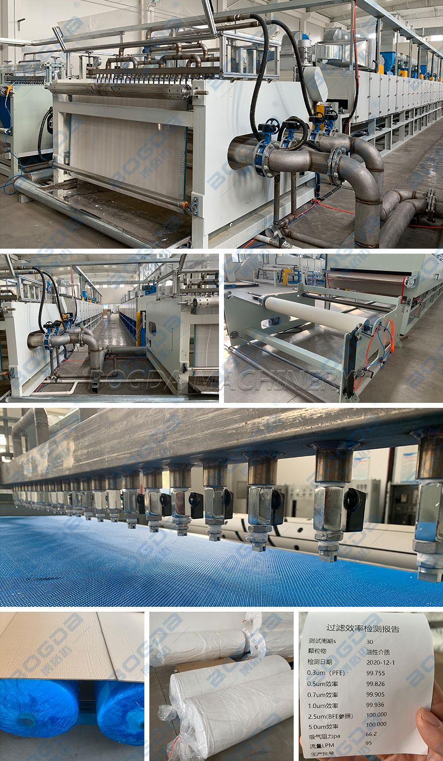 1.6m Water Electret Electrostatic Equipment PP Melt Blown Nonwovens Fabric Machine Manufacturer