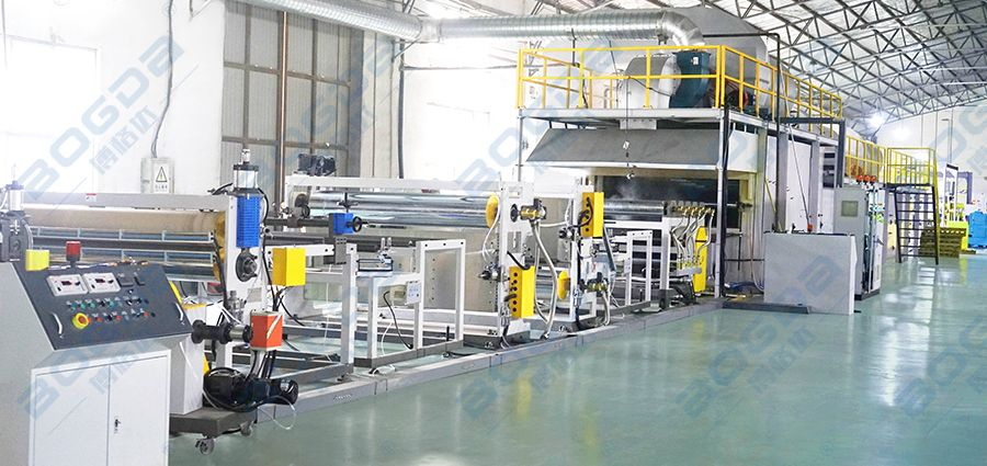 CO2 Technology XPS Foaming Insulation Board Extrusion Production Line