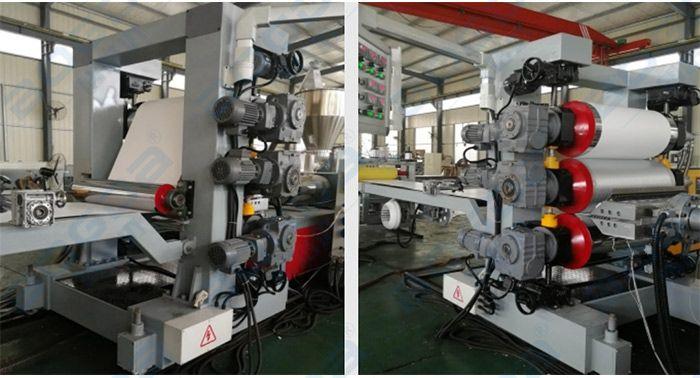 BOGDA High Output 600mm PVC Edge Banding Sheet Extruder Production Line Making Machine