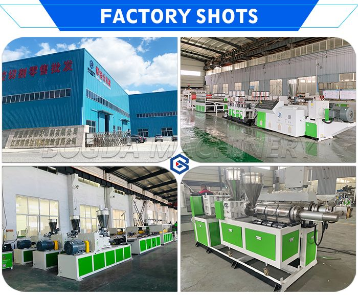 Production Making Machine PP Hollow Building Formwork Board Extrusion Line