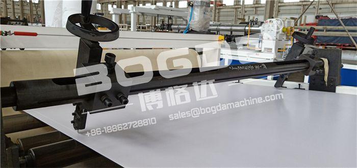 PVC foam sheet cutter